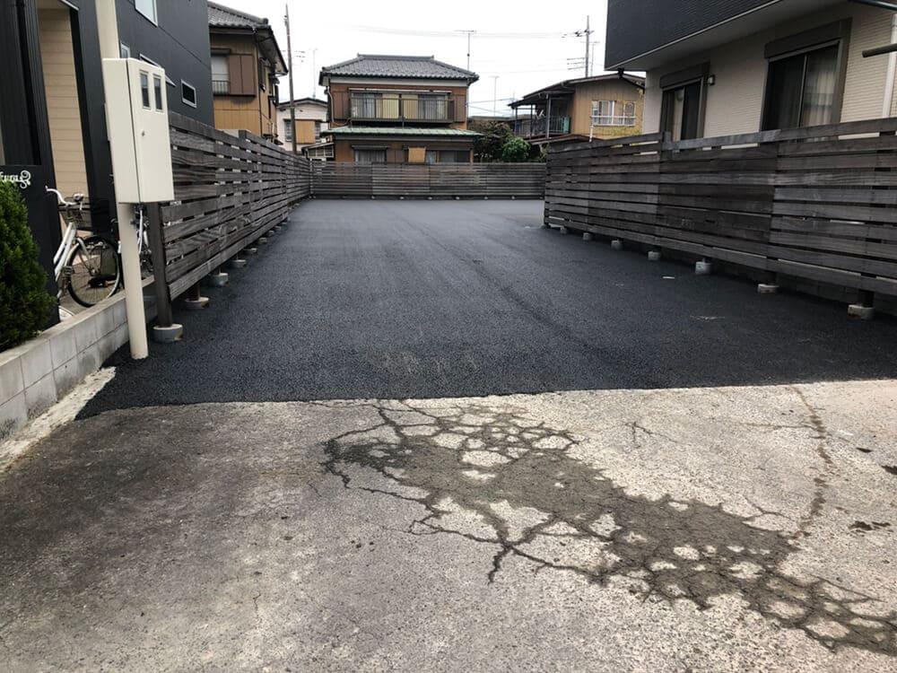 舗装工事 NO.1287の施工写真1