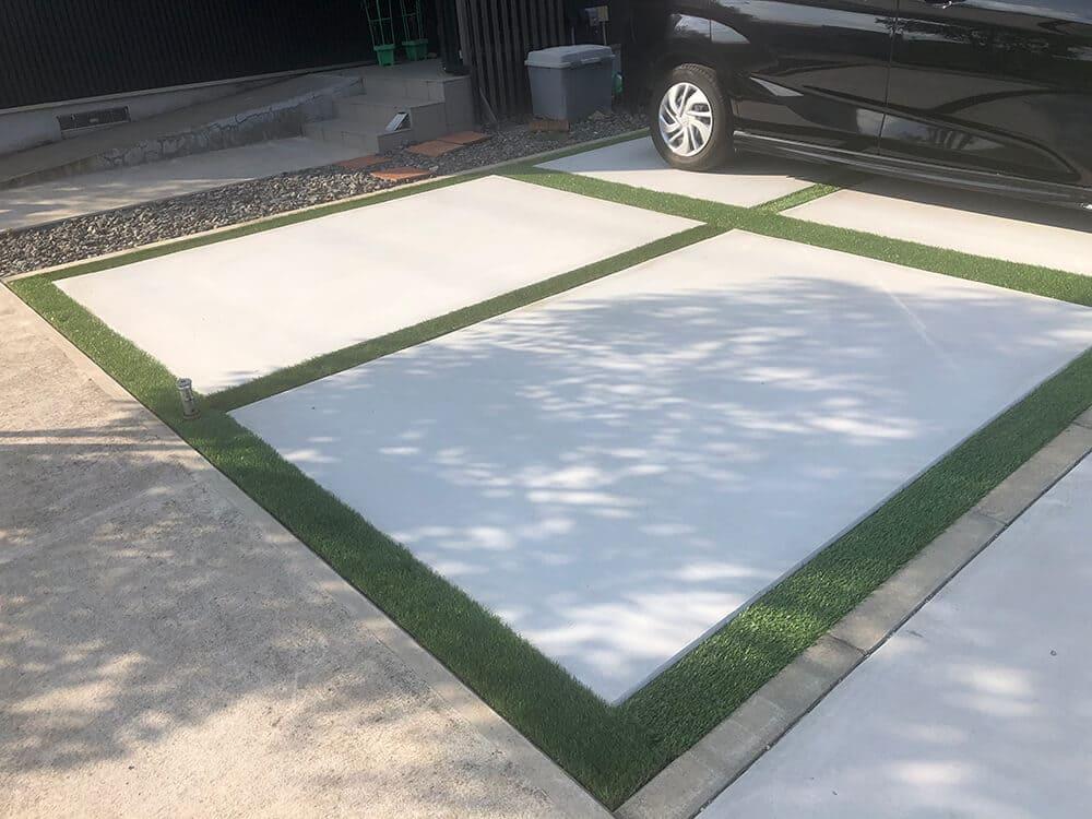 駐車場リフォーム工事 NO.1314の施工写真2
