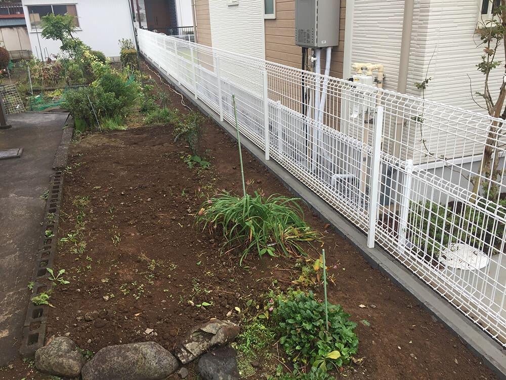 境界フェンス工事 NO.1312の施工写真メイン