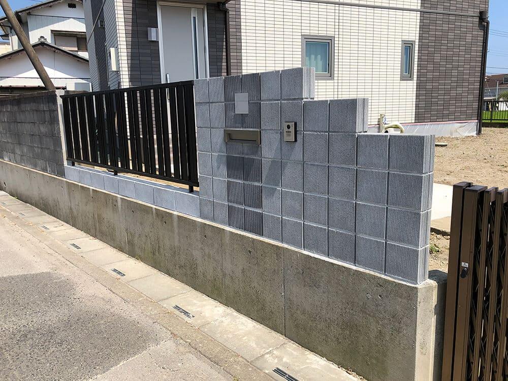 新築外構工事 NO.1311の施工写真メイン