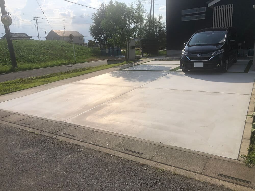 駐車場リフォーム工事 NO.1314
