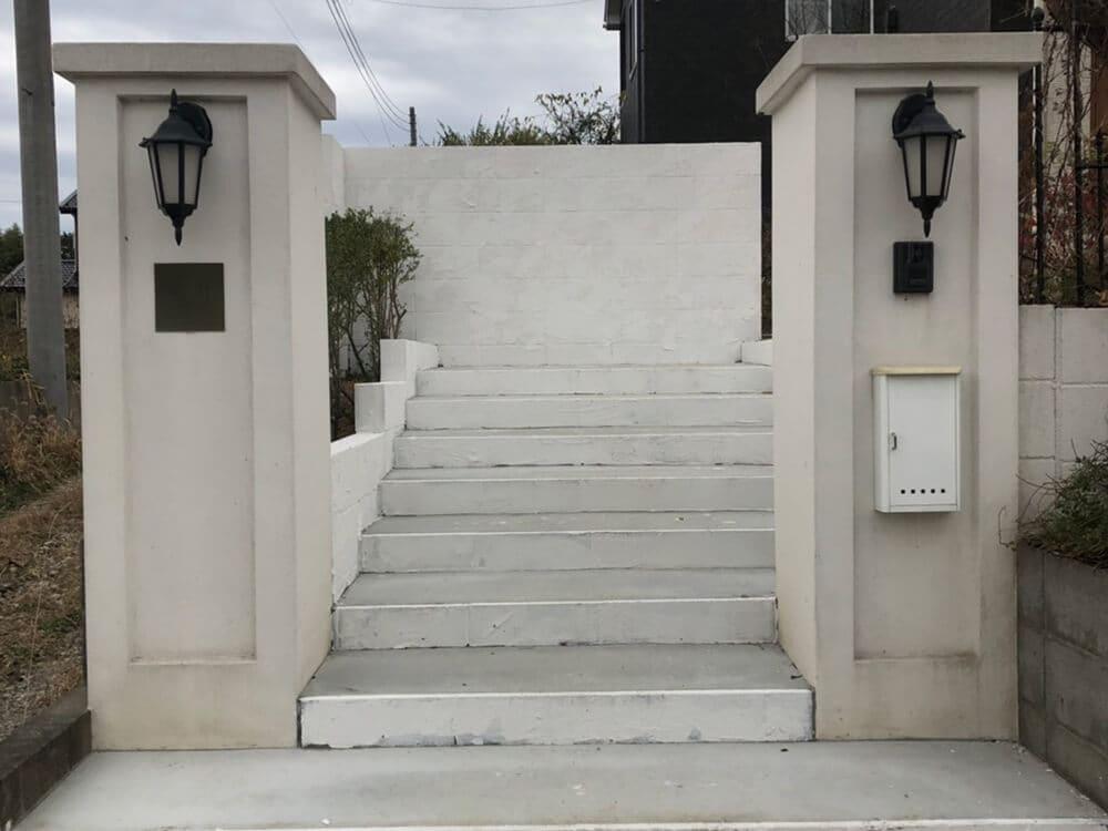 階段の造作工事 NO.1342の施工写真2