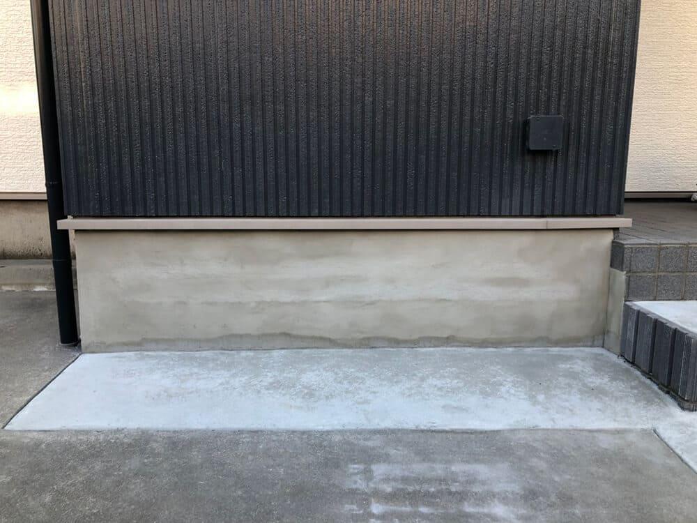 駐車場拡幅工事 NO.1331の施工写真2