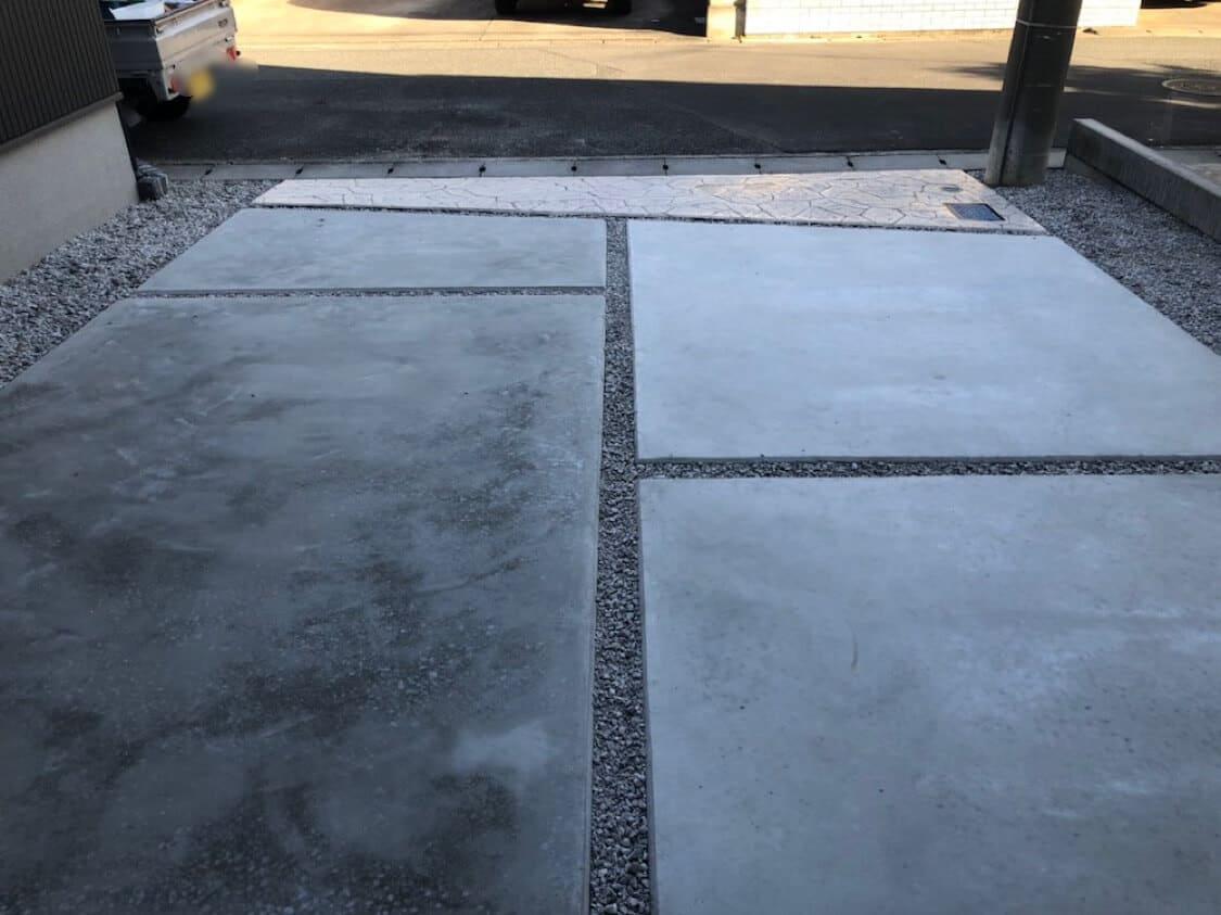スタンプコンクリート工事 NO.1362の施工写真3
