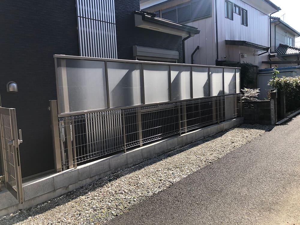 ウッドデッキ・目隠しフェンス工事 NO.1408の施工写真3
