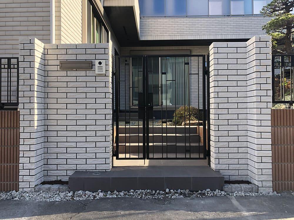 新築外構工事 NO.1400の施工写真メイン