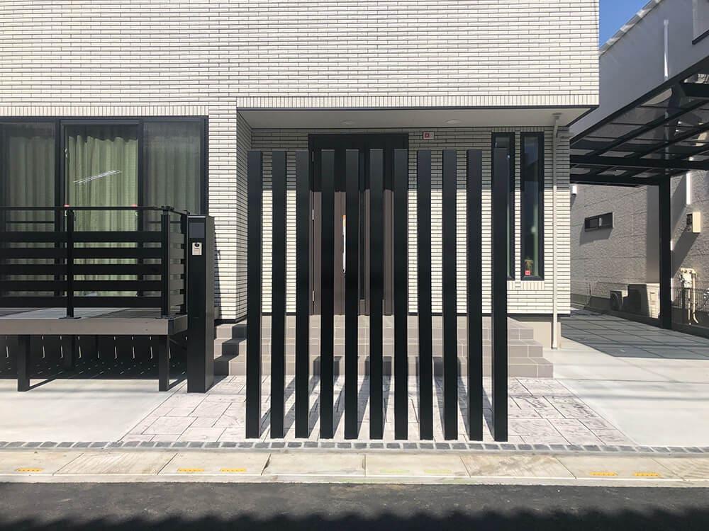 新築外構工事 NO.1412の施工写真2