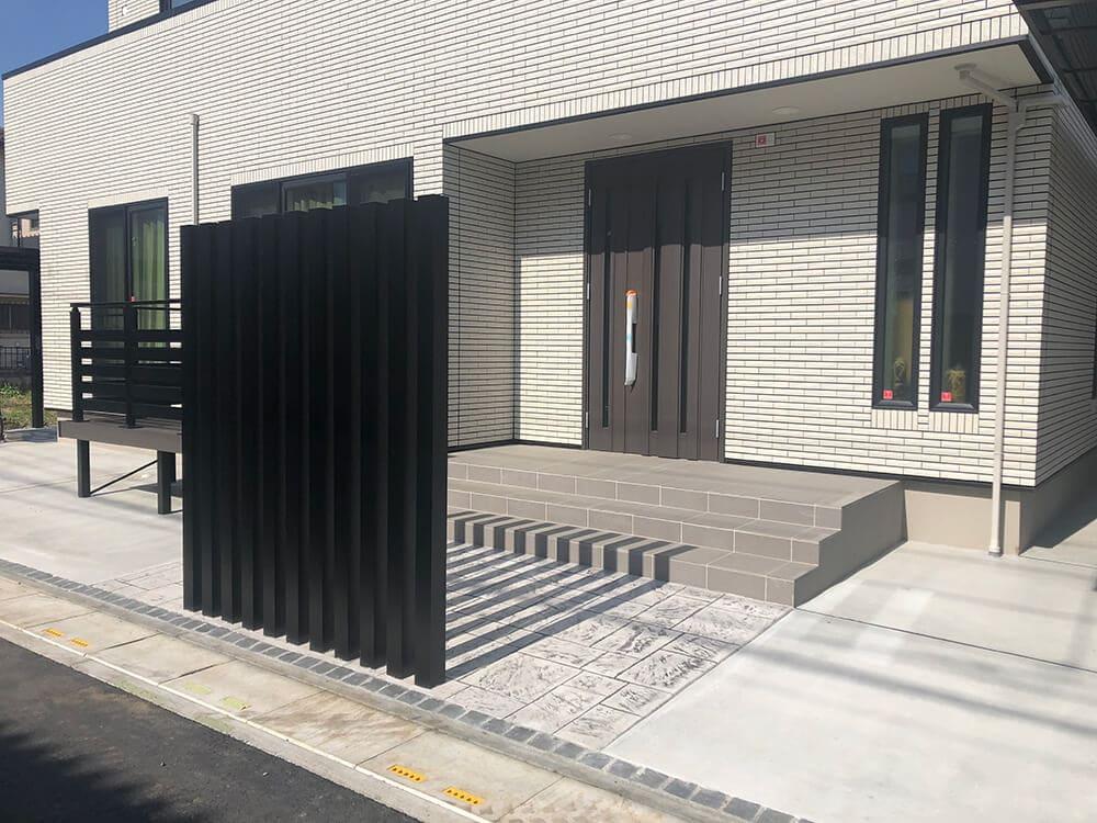 新築外構工事 NO.1412の施工写真3