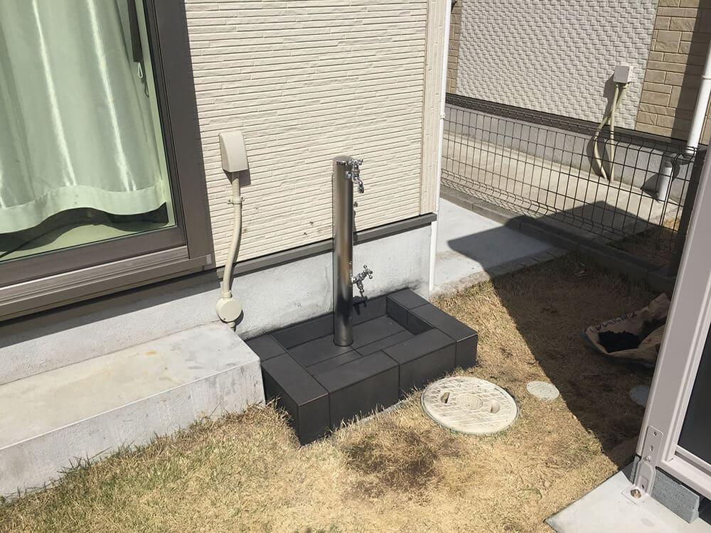 物置・立水栓工事 NO.1402の施工写真3