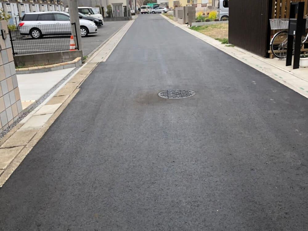 舗装復旧工事 NO.1399の施工写真1