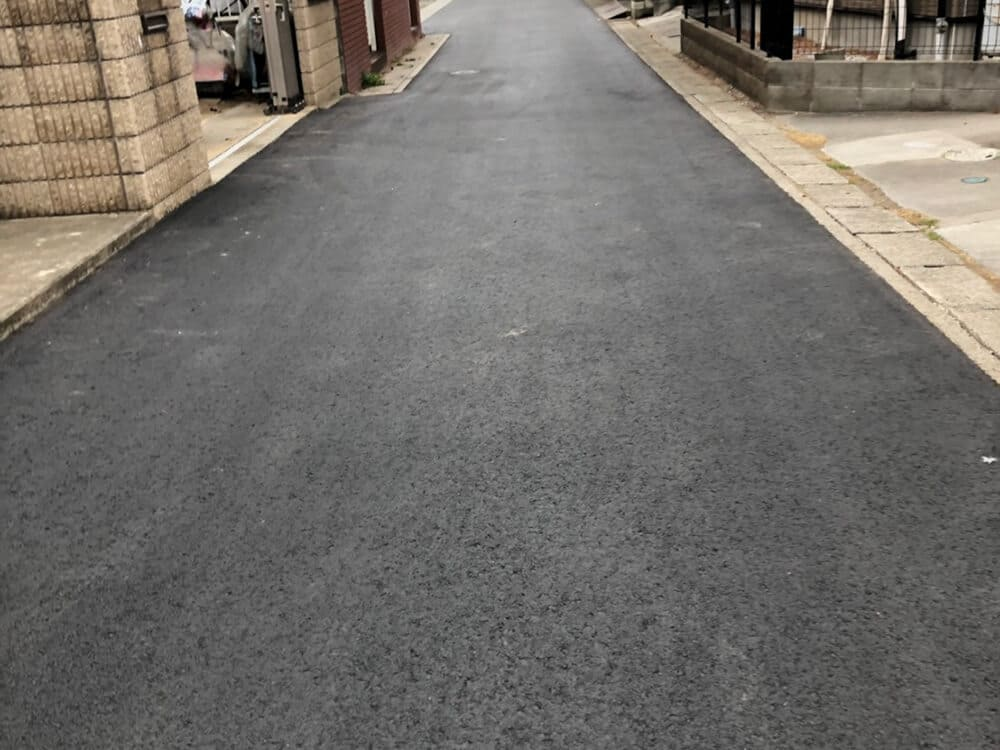 舗装復旧工事 NO.1399の施工写真2