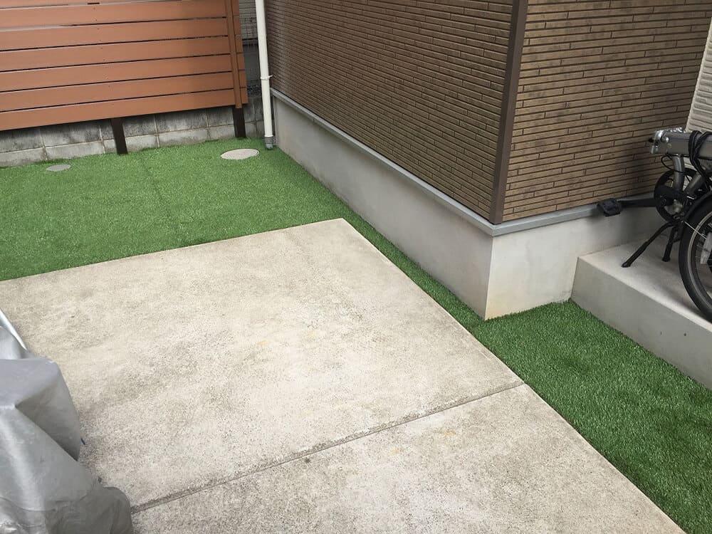 お庭のリフォーム工事 NO.1418の施工写真3