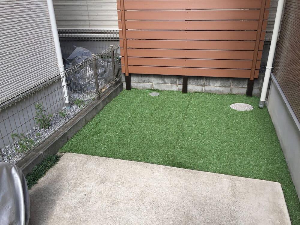 お庭のリフォーム工事 NO.1418の施工写真1