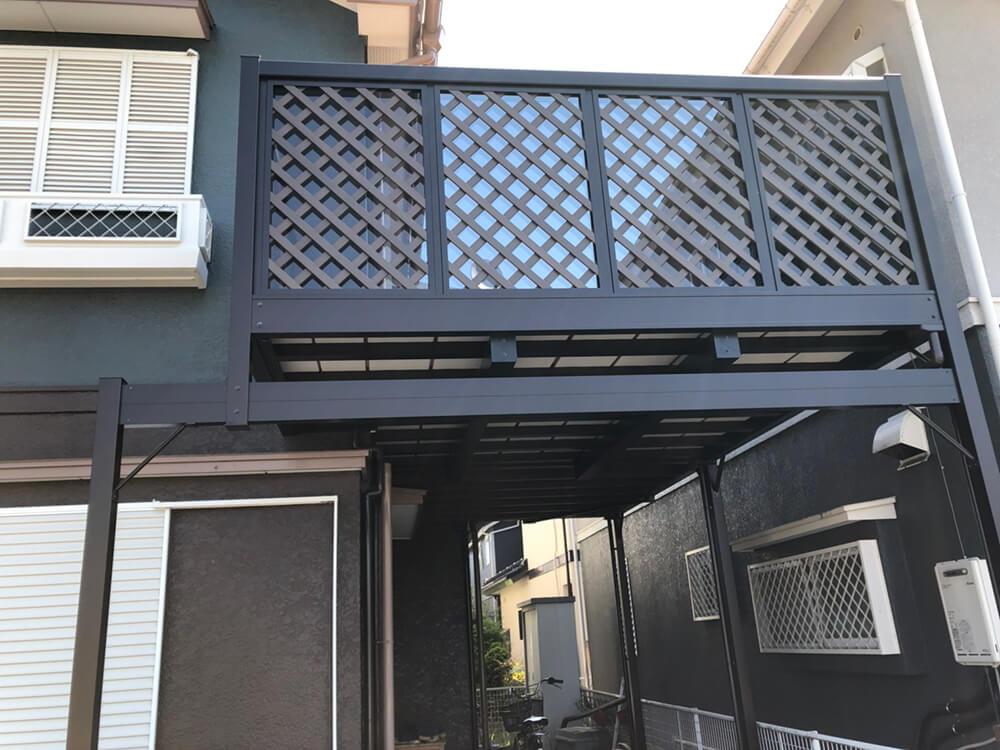 2階木造テラス解体・取替工事 NO.1440