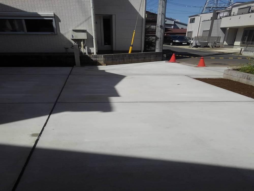 駐車場工事 No.1443の施工写真メイン