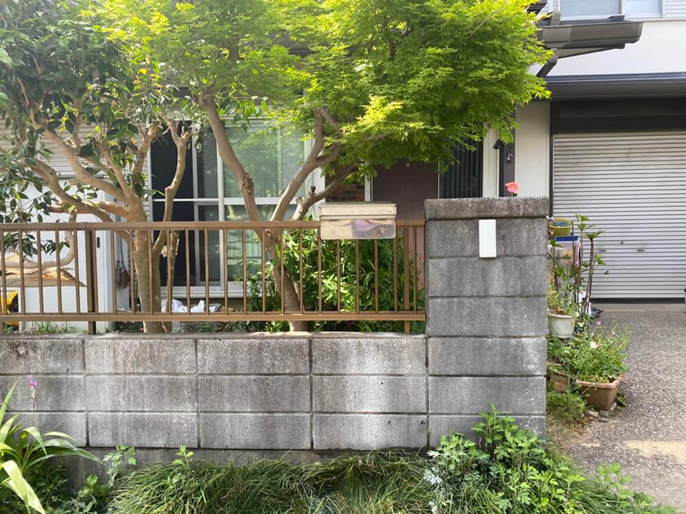 フェンス工事 NO.1450の施工写真1
