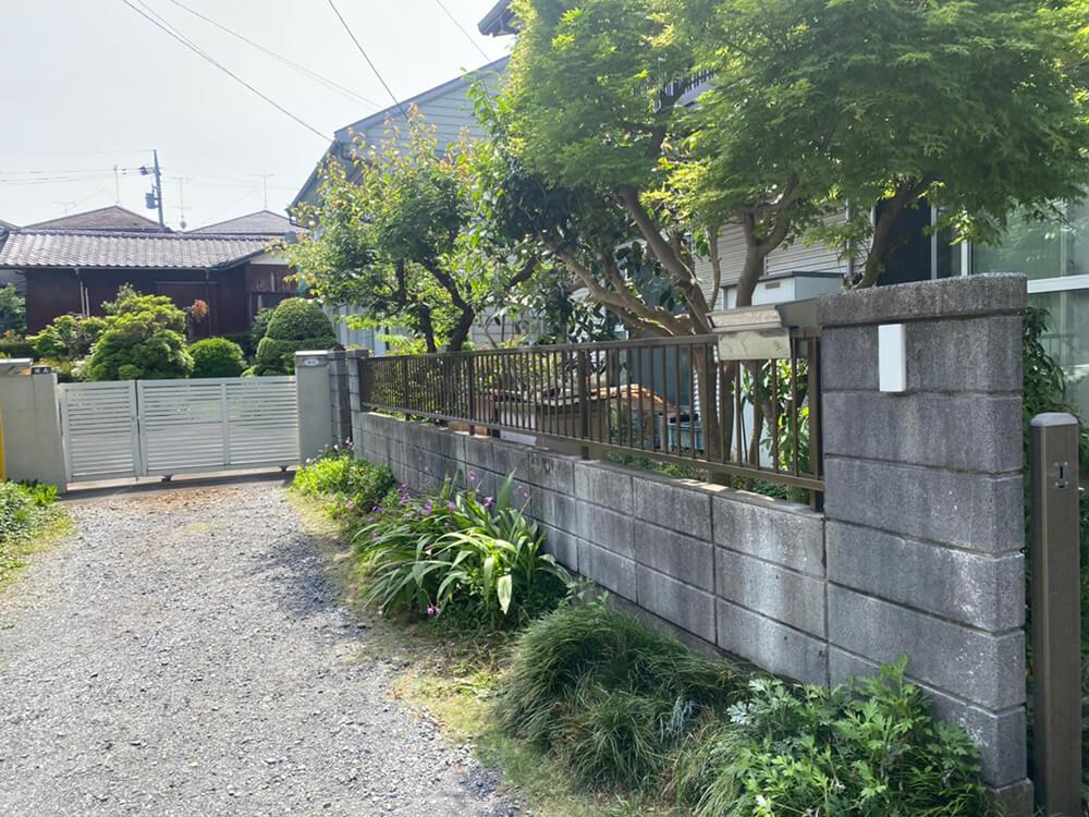 フェンス工事 NO.1450の施工写真3