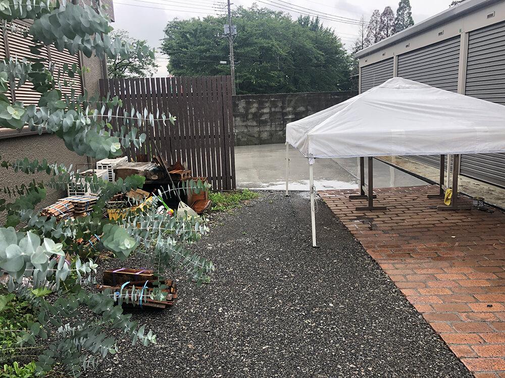 お庭のリフォーム工事 NO.1489の施工写真3