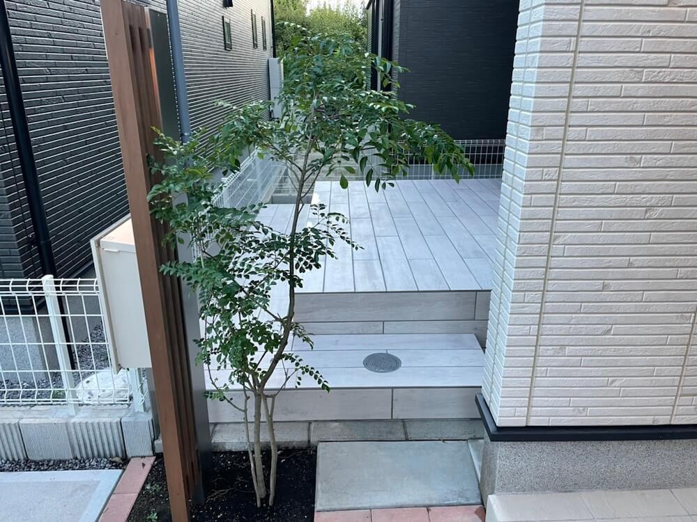 タイルデッキ工事(LIXIL バサーティル) No.1502