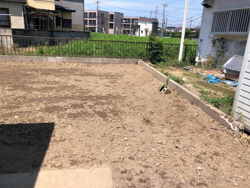 立木伐根(竹)工事 NO.1528の施工写真3