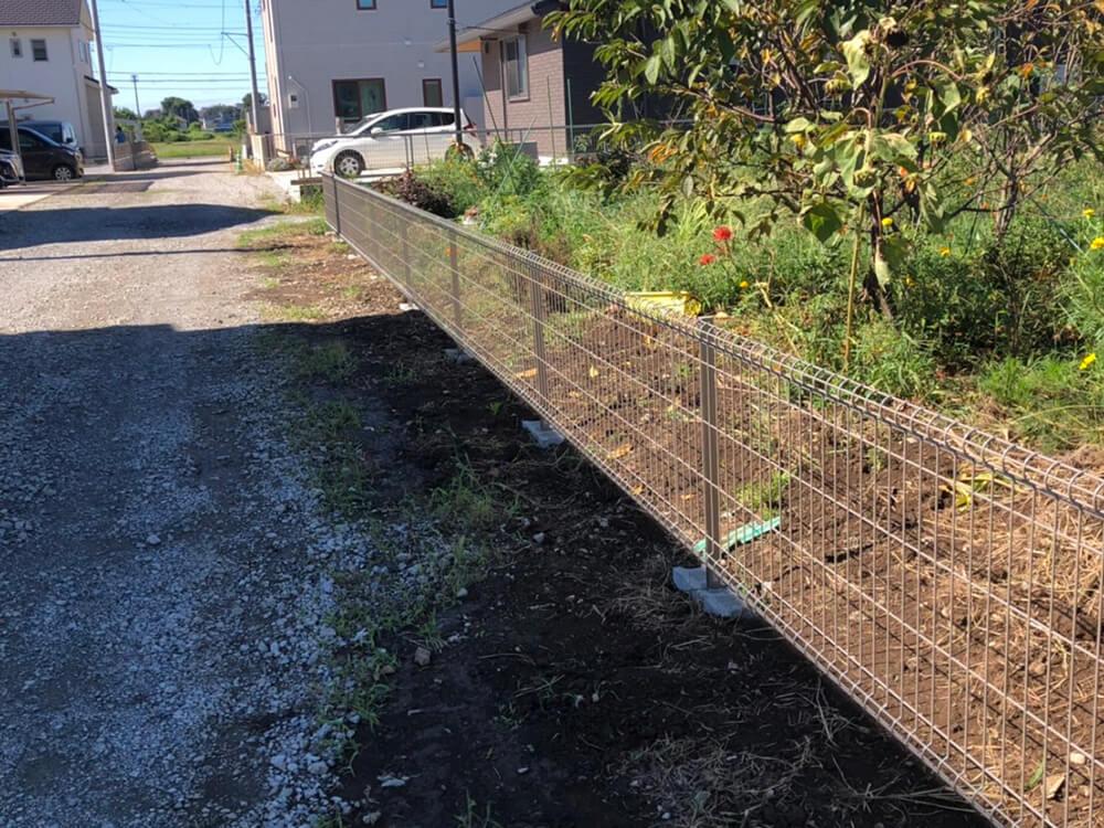 ブロック・フェンス工事 NO.1537の施工写真1